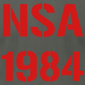NSA 1984 T-Shirts - Men's T-Shirt by American Apparel