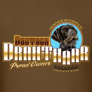 drahthaar_proud_owner T-Shirts - Men's T-Shirt