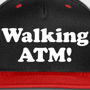 Walking ATM! Caps - Snap-back Baseball Cap