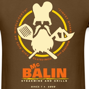 McBalin Steakmine and Grille - Men's T-Shirt