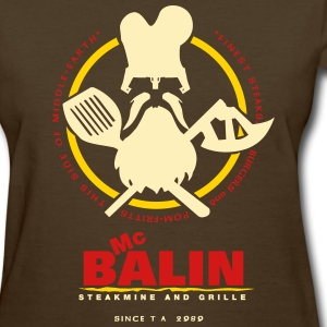 McBalin Steakmine and Grille - Women's T-Shirt