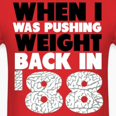 Back In '88 Retro 3 Shirt T-Shirts