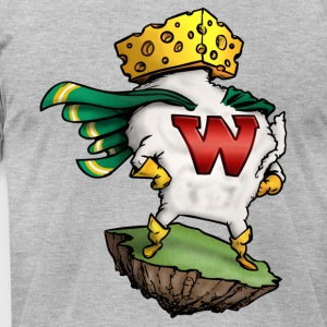 THE AMAZING WISCONSIN-MAN T-Shirts - Men's T-Shirt by American Apparel