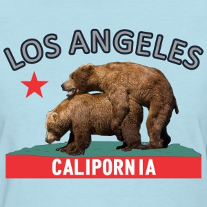 los_angeles_silverblack Women's T-Shirts - Women's T-Shirt