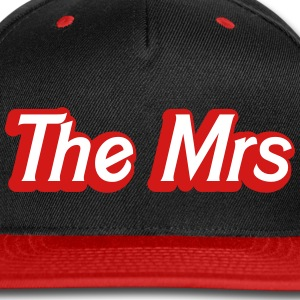 The Mrs Woman recently married wife Caps - Snap-back Baseball Cap