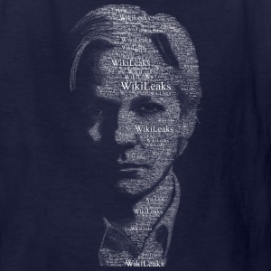 Wikileaks Typographical Assange  Kids' Shirts - Kids' T-Shirt