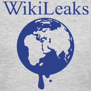 Wikileaks Globe Long Sleeve Shirts - Women's Long Sleeve Jersey T-Shirt