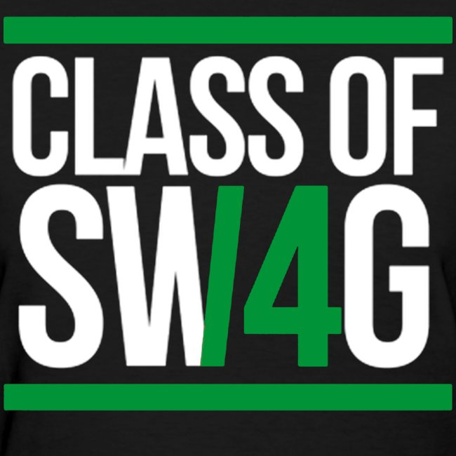 Class of Swag Green Women