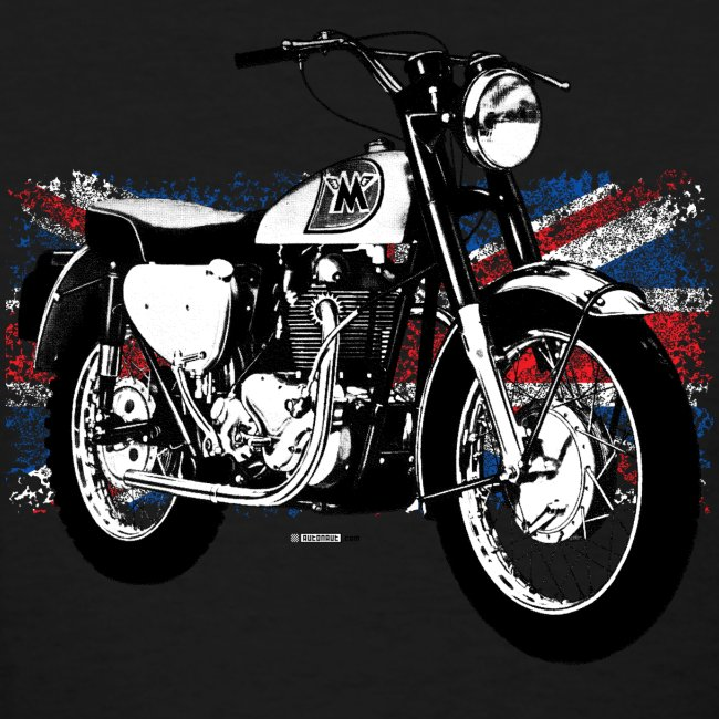 Triumph With Flag