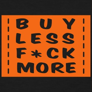 buy less fuck more 1 Women's T-Shirts - Women's T-Shirt