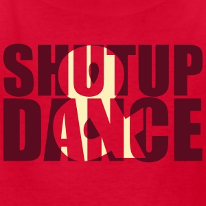 shut up and dance Kids' Shirts - Kids' T-Shirt