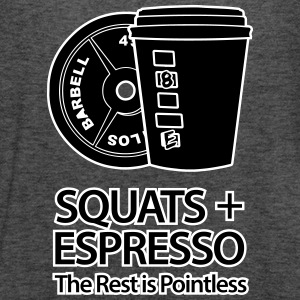 Squats and Espresso Tanks - Women's Flowy Tank Top by Bella