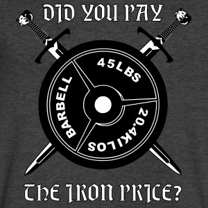 Did you pay the iron price T-Shirts - Men's V-Neck T-Shirt by Canvas
