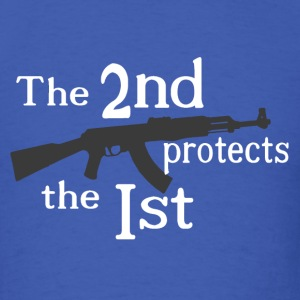 The 2nd protects the 1st T-Shirts - Men's T-Shirt