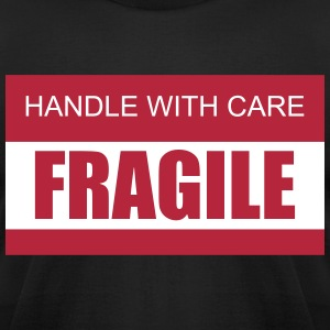 Handle with Care / Fragile 2c T-Shirts - Men's T-Shirt by American Apparel