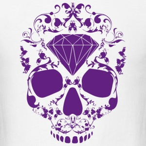 Diamond Skull T-Shirts - Men's T-Shirt