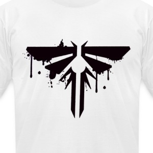 Firefly Graffiti - Men's T-Shirt by American Apparel