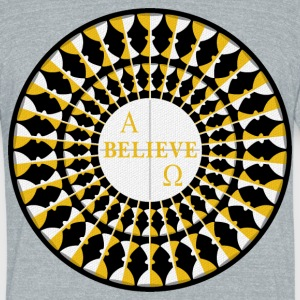 Believe T-Shirts - Unisex Tri-Blend T-Shirt by American Apparel