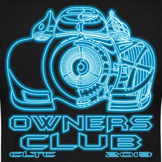 Neon Owners V-Neck Back Canvas