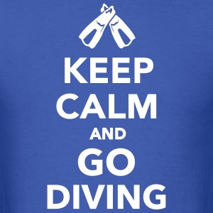 Keep calm and go Diving T-Shirts - Men's T-Shirt