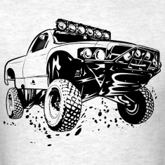 Off-Road Race Truck T-Shirts