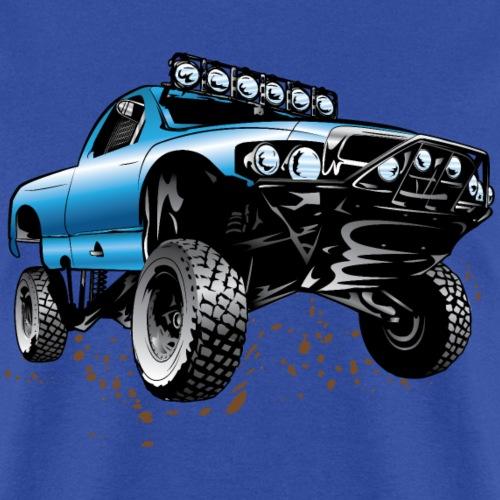 Blue Race Truck