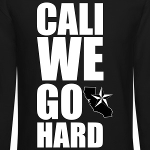 Cali we go hard - Crewneck Sweatshirt