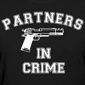 Partners in Crime - Women's T-Shirt