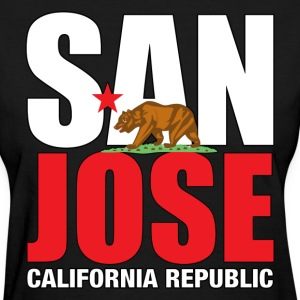 San Jose California - Women's T-Shirt