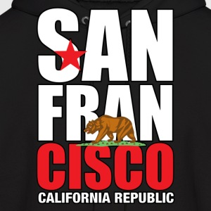 San Francisco California - Men's Hoodie