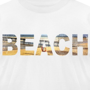 Beach  T-Shirts - Men's T-Shirt by American Apparel