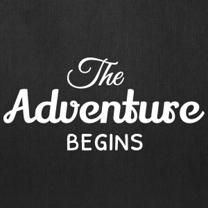 the adventure begins Bags & backpacks - Tote Bag