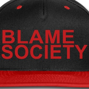 BLAME SOCIETY  - Snap-back Baseball Cap