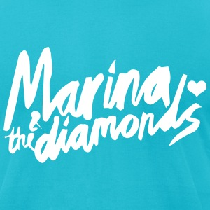 marinas T-Shirts - Men's T-Shirt by American Apparel