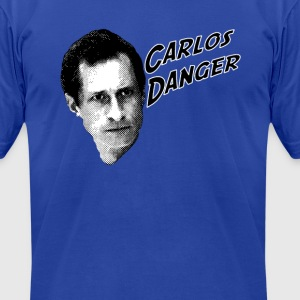 carlos danger T-Shirts - Men's T-Shirt by American Apparel