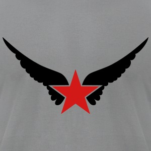 Hero Wings, Superhero, Comic, Style, Cartoon, Star T-Shirts - Men's T-Shirt by American Apparel