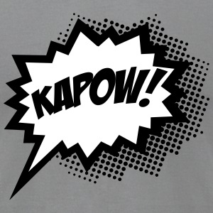 Comic KAPOW!, Super Hero, Cartoon, Bubble, Boom,  T-Shirts - Men's T-Shirt by American Apparel