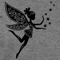 fairy, pixie, elf, star, magic, witchcraft, summer Long Sleeve Shirts