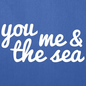 you, me and the sea Bags & backpacks - Tote Bag