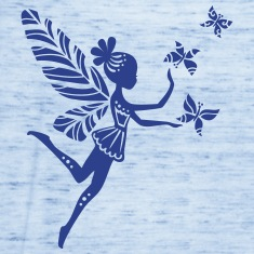 fairy, pixie, magic, butterfly, summer, fantasy Tanks
