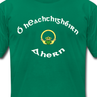 Design ~ Ahern Family Claddagh Tee for Men