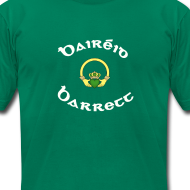 Design ~ Barrett Family Claddagh Tee for Men