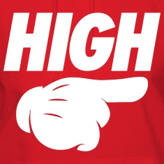 High Pointing Right Hoodies