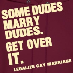SOME DUDES MARRY DUDES GET OVER IT