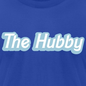 The HUBBY (Husband partner wedding together) T-Shirts - Men's T-Shirt by American Apparel