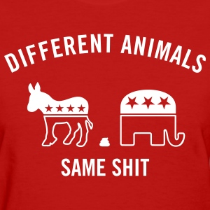 Different Animals Men's Humor Women's T-Shirts - Women's T-Shirt