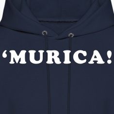 'Murica! Men's Humor Hoodies