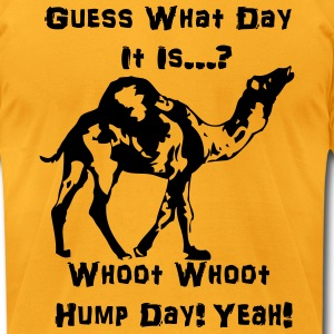 gues what day is it today T-Shirts - Men's T-Shirt by American Apparel