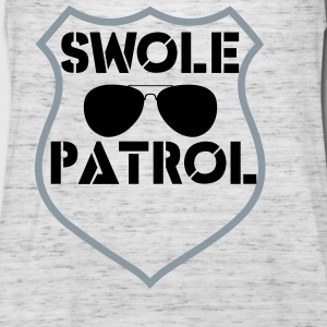 swole patrol Tanks - Women's Flowy Tank Top by Bella