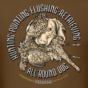 all_round_dog T-Shirts - Men's T-Shirt